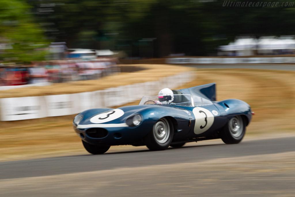 Jaguar D-Type Longnose - Chassis: XKD 606 - Entrant: Louwman Museum - Driver: Quirina Louwman  - 2018 Goodwood Festival of Speed