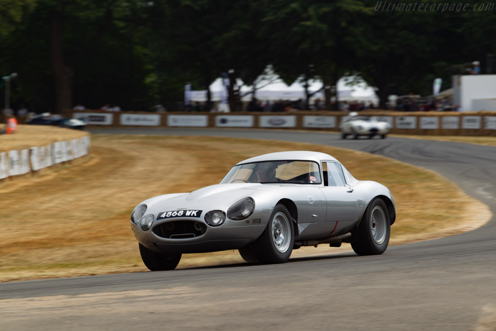 Jaguar E-Type Low Drag - Chassis: S850662 - Entrant: Peter Neumark - Driver: Peter Sutcliffe  - 2018 Goodwood Festival of Speed