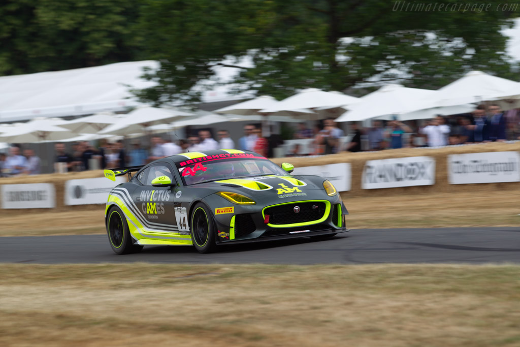 Jaguar F-Type GT4  - Entrant: Invicturs Games Racing - Driver: Matthew George  - 2018 Goodwood Festival of Speed