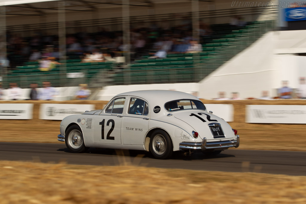 Jaguar Mk1 - Chassis: 976897 - Entrant: Anthony Williams - Driver: Grant Williams  - 2018 Goodwood Festival of Speed
