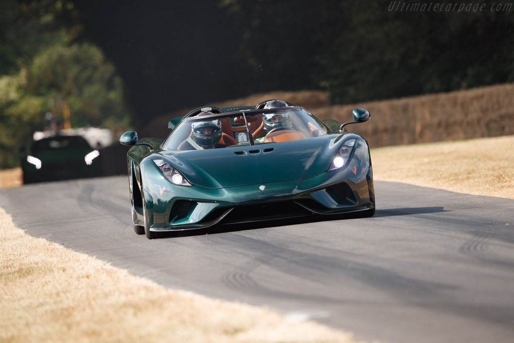 Koenigsegg Regera - Chassis: YT9NN1A49HA007129   - 2018 Goodwood Festival of Speed