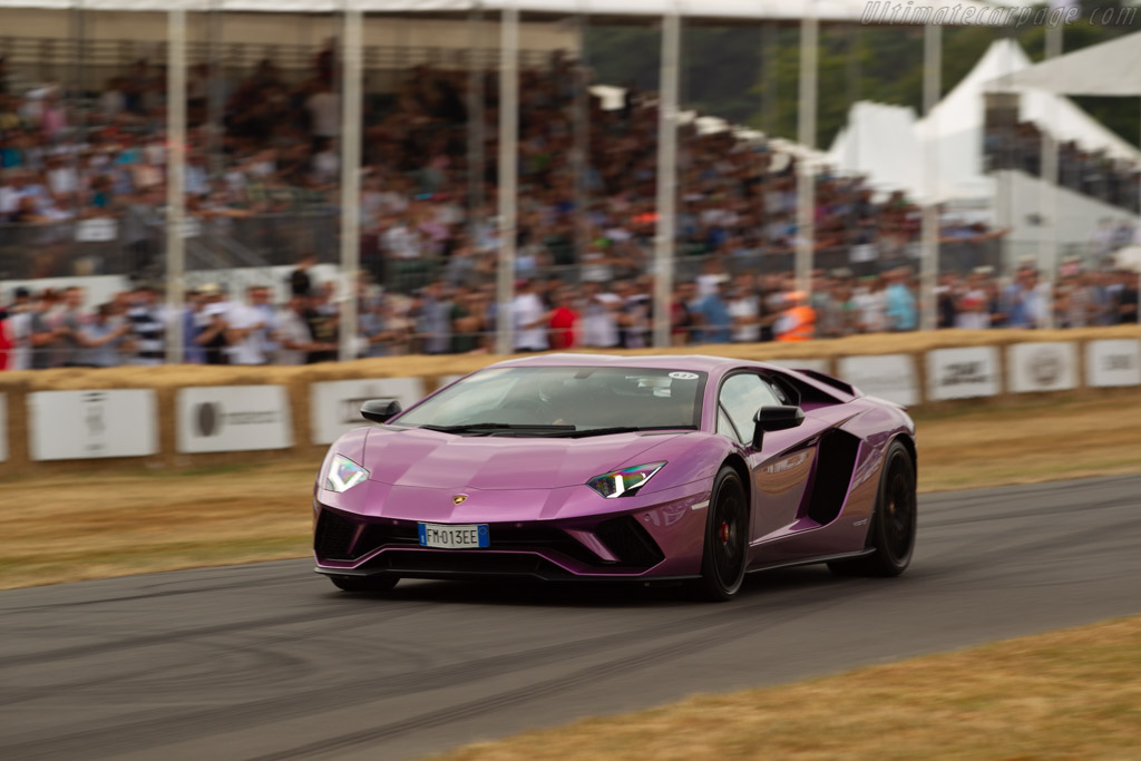 Lamborghini Aventador S Coupe    - 2018 Goodwood Festival of Speed