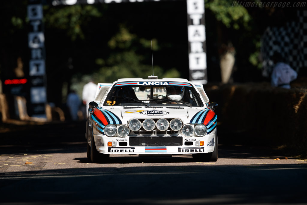 Lancia 037 - Chassis: ZLA151AR0 00000408 - Entrant / Driver Max Girardo  - 2018 Goodwood Festival of Speed