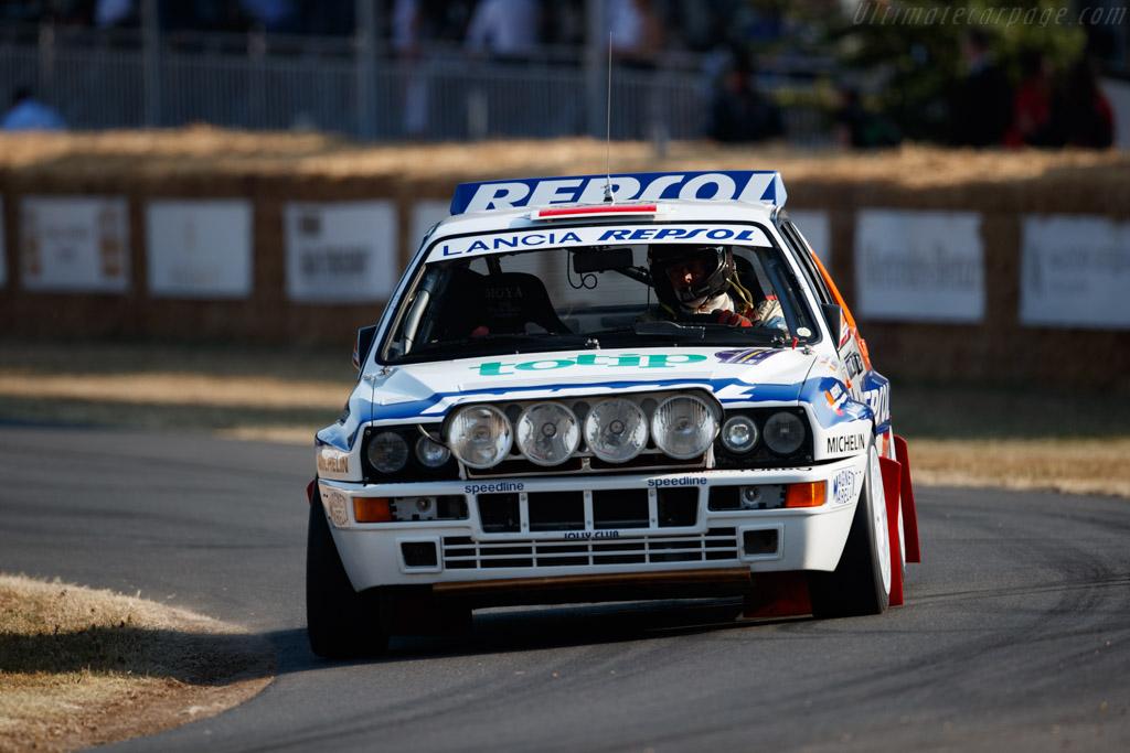 Lancia Delta HF Integrale  - Entrant / Driver John Saunders  - 2018 Goodwood Festival of Speed