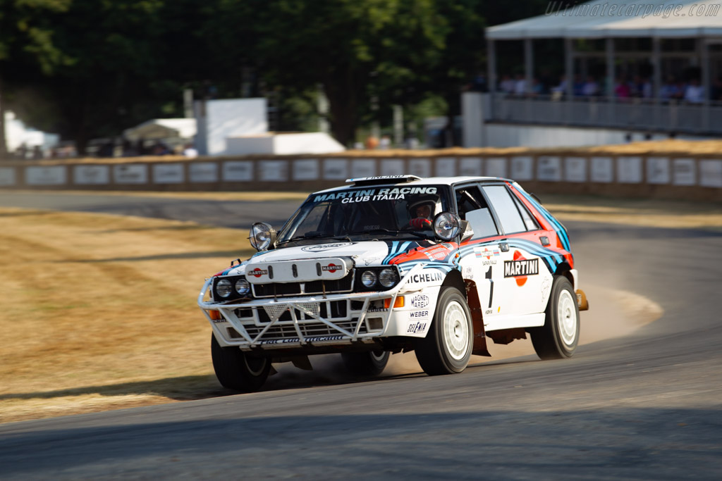 Lancia Delta HF Integrale - Chassis: ZLA831AB000556735 - Entrant / Driver Stefano Macaluso  - 2018 Goodwood Festival of Speed