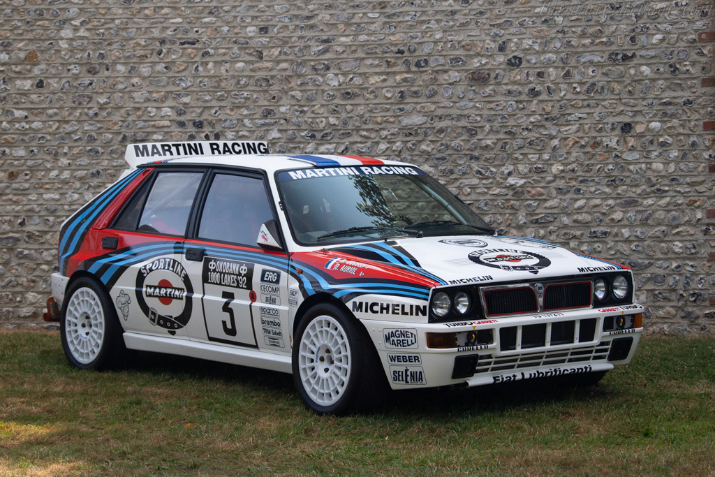 Lancia Delta Integrale Group A - Chassis: ZLA831AB000556747   - 2018 Goodwood Festival of Speed