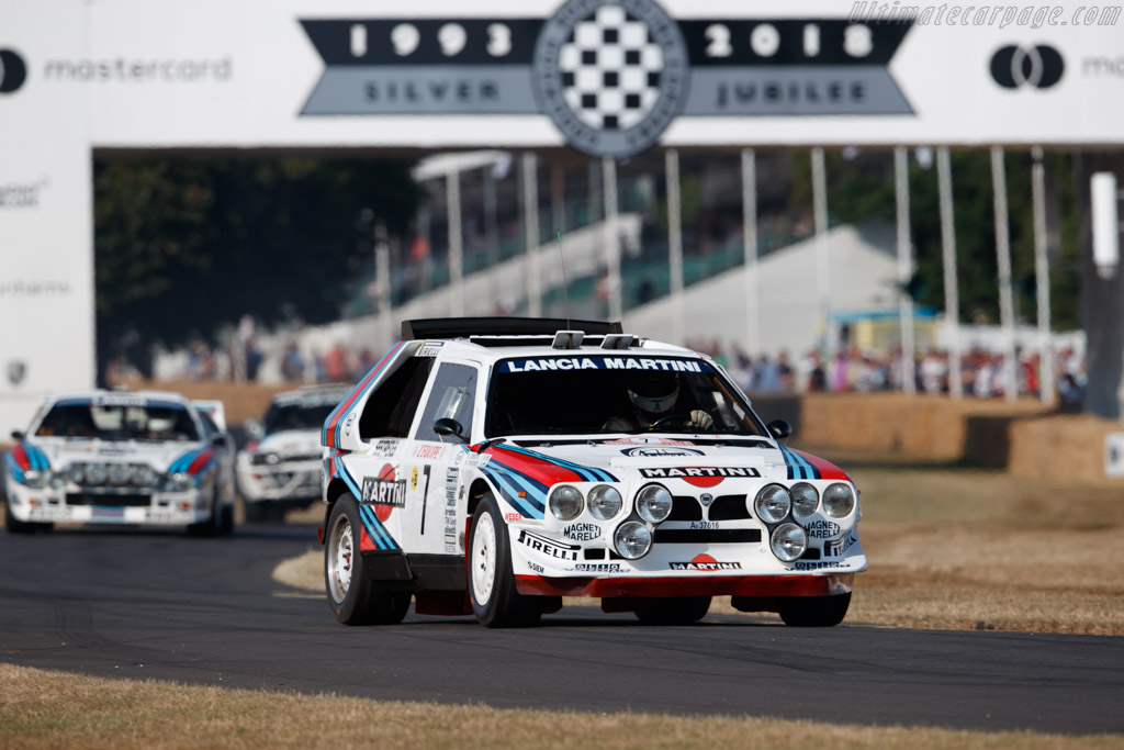 Lancia Delta S4 - Chassis: 215 - Entrant / Driver Andrew Beverley  - 2018 Goodwood Festival of Speed