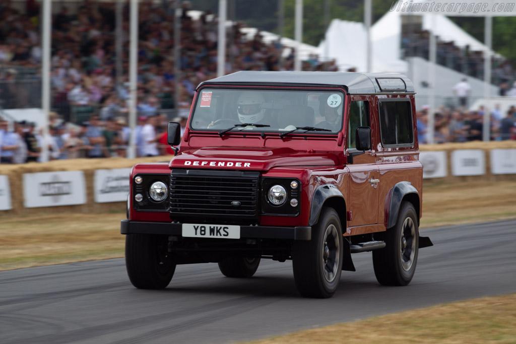 Land Rover Defender V8 Works    - 2018 Goodwood Festival of Speed
