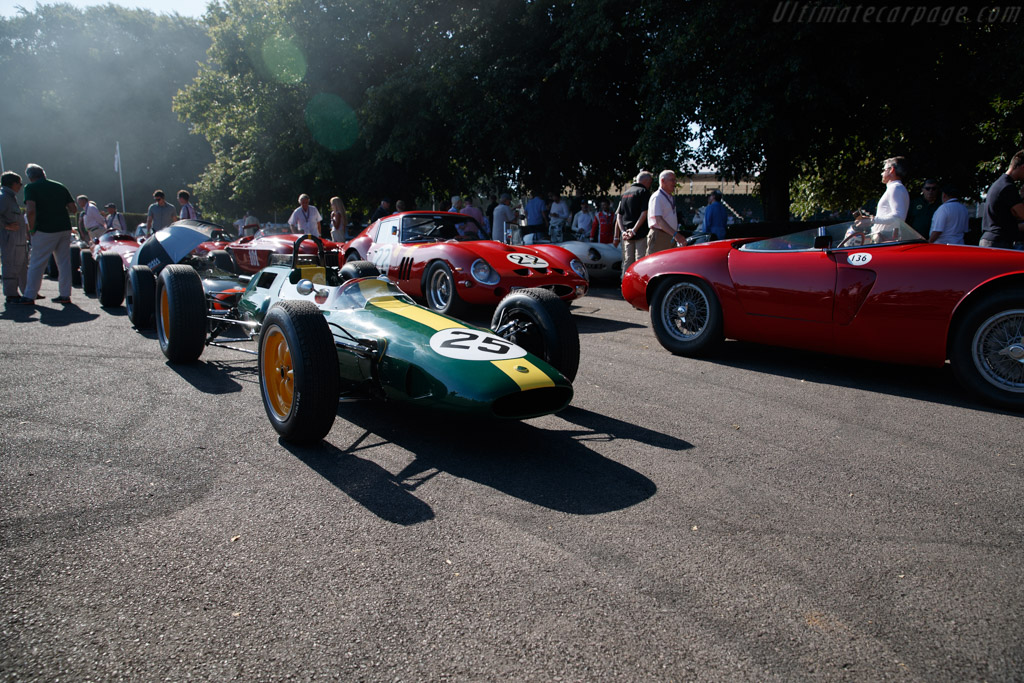 Lotus 25 Climax - Chassis: R3 - Entrant: Classic Team Lotus  - 2018 Goodwood Festival of Speed