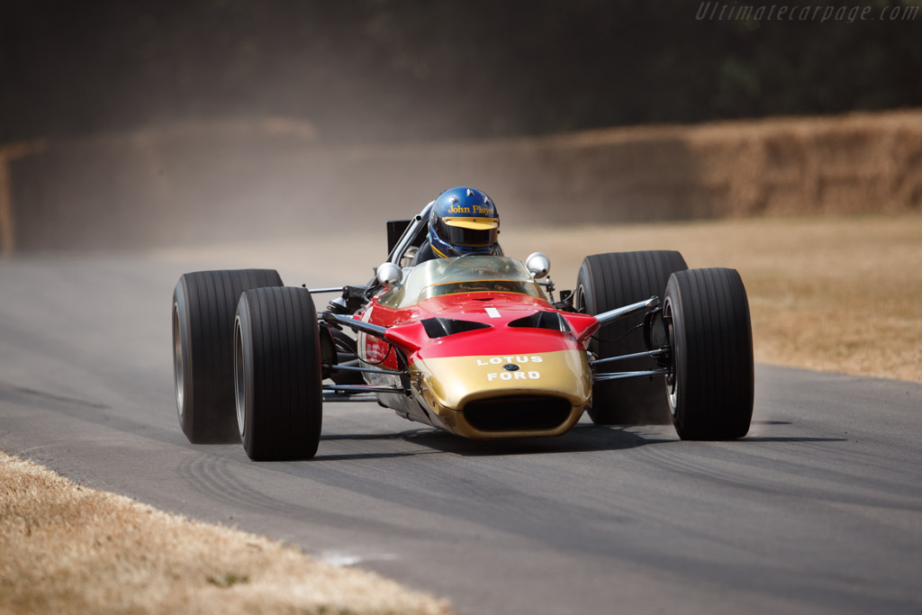 Lotus 49B - Chassis: R10 - Entrant: Classic Team Lotus - Driver: Andrew Beaumont  - 2018 Goodwood Festival of Speed