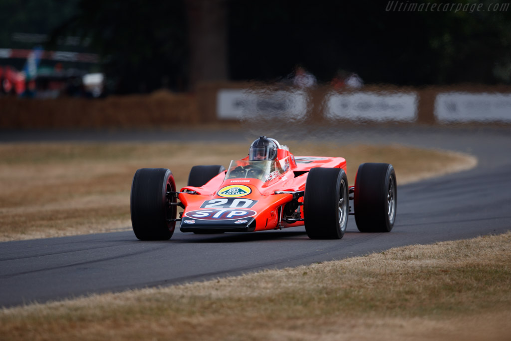 Lotus 56 STP  - Entrant: IMS Hall of Fame - Driver: Robert Dyson / Anthony Fairbalm  - 2018 Goodwood Festival of Speed
