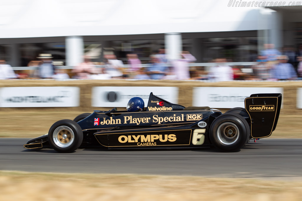 Lotus 79 Cosworth - Chassis: 79/2 - Entrant: Classic Team Lotus - Driver: Nick Fennell  - 2018 Goodwood Festival of Speed