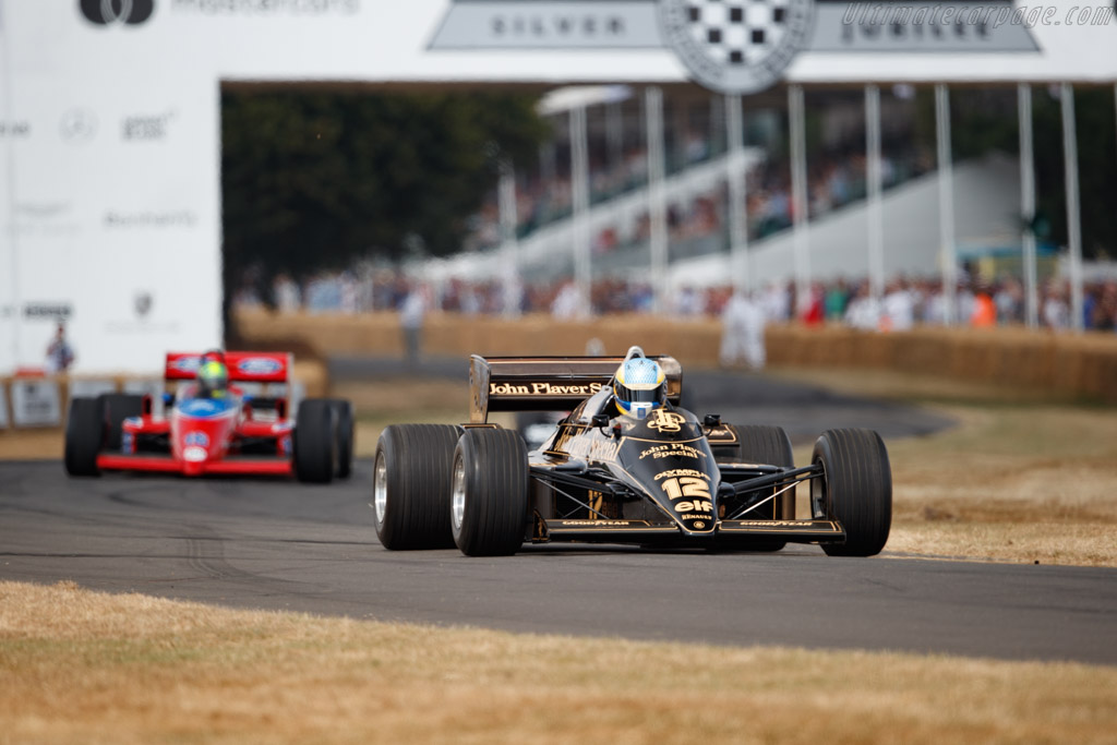 Lotus 97T - Chassis: 97T/2 - Entrant: Classic Team Lotus - Driver: Chris Dinnage - 2018 Goodwood Festival of Speed
