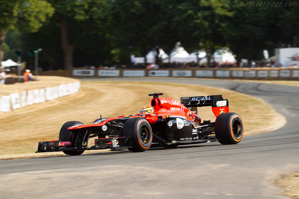 Lotus E20 - Chassis: E20-04 - Entrant: Renault Sport Racing - Driver: Jack Aitken  - 2018 Goodwood Festival of Speed