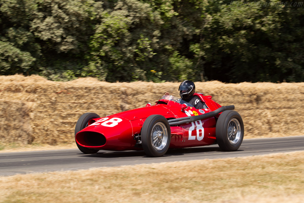 Maserati 250F - Chassis: 2526 - Entrant: Graham Adelman - Driver: Graham Adelman / Rob Hall / Andy Willis  - 2018 Goodwood Festival of Speed