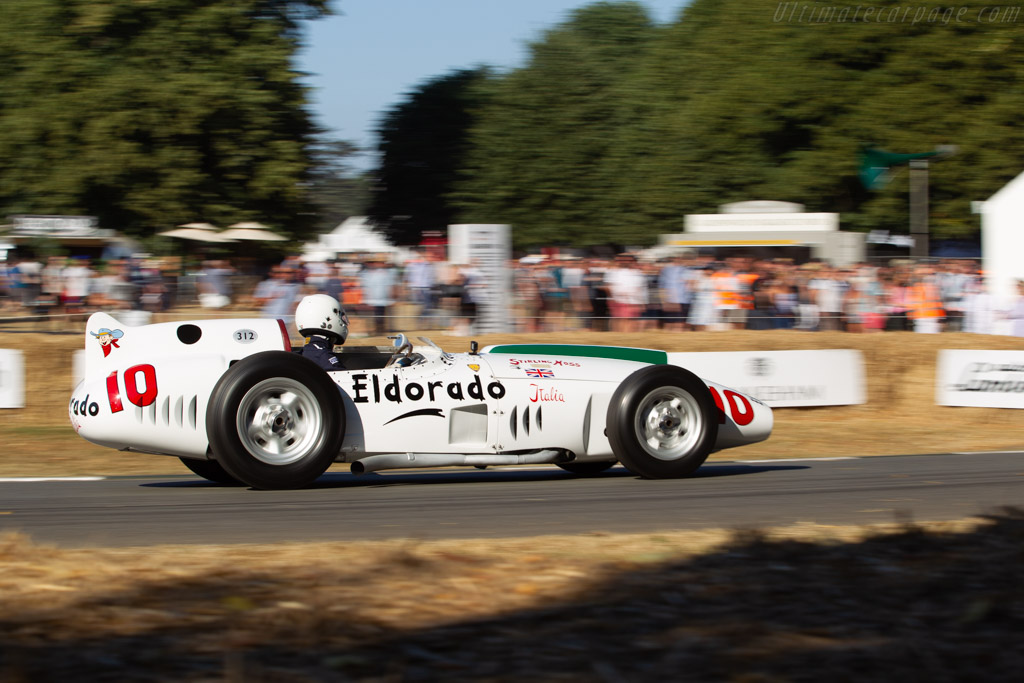 Maserati Eldorado Special - Chassis: 4203 - Entrant / Driver Matteo Panini  - 2018 Goodwood Festival of Speed