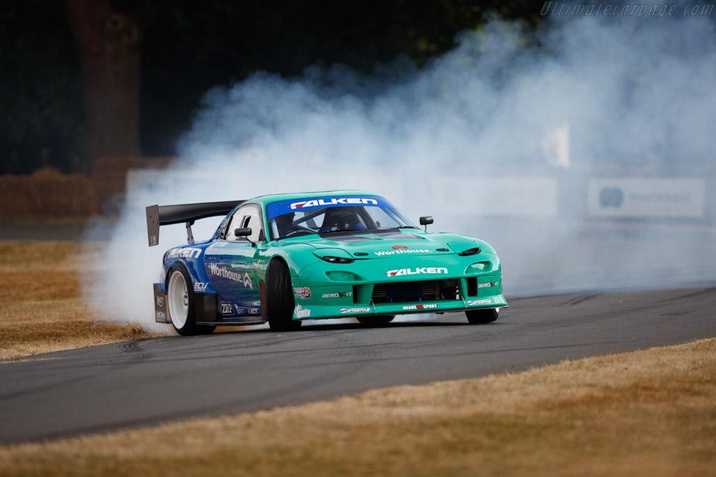 Mazda RX7  - Entrant / Driver James Deane  - 2018 Goodwood Festival of Speed