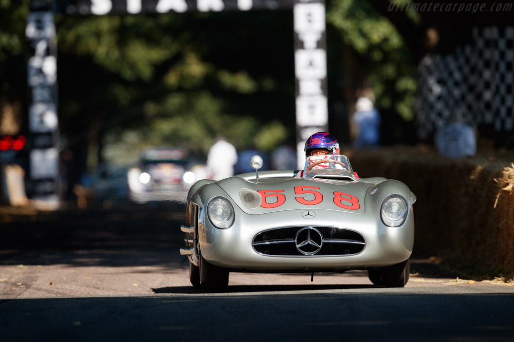 Mercedes-Benz 300 SLR - Chassis: 00010/55 - Entrant: Mercedes-Benz Classic - Driver: Charles Richmond  - 2018 Goodwood Festival of Speed