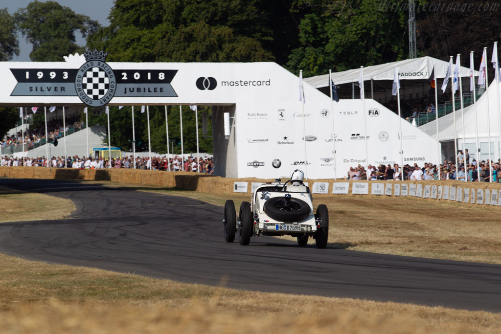 Mercedes-Benz 710 SSK - Chassis: 36339 - Entrant: Dieter Dressler - Driver: Philipp Dressler  - 2018 Goodwood Festival of Speed