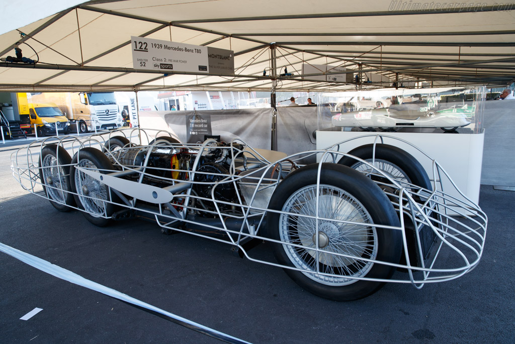 Mercedes-Benz T80 - Chassis: 439805 - Entrant: Mercedes Benz Classic  - 2018 Goodwood Festival of Speed