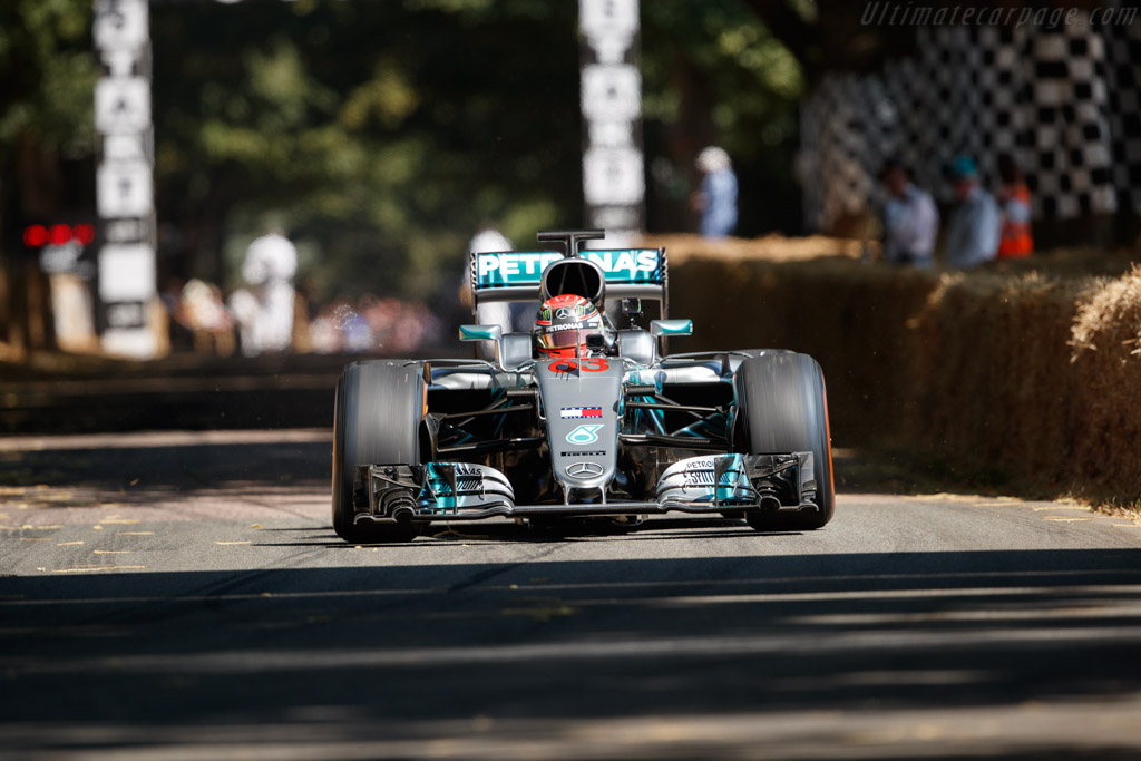 Mercedes-Benz W07  - Entrant: Mercedes AMG Petronas - Driver: Valterri Bottas / George Russell  - 2018 Goodwood Festival of Speed
