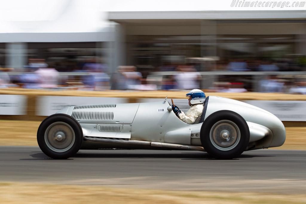 Mercedes-Benz W125 - Chassis: 166369 - Entrant: Mercedes Benz Classic - Driver: Jochen Mass  - 2018 Goodwood Festival of Speed