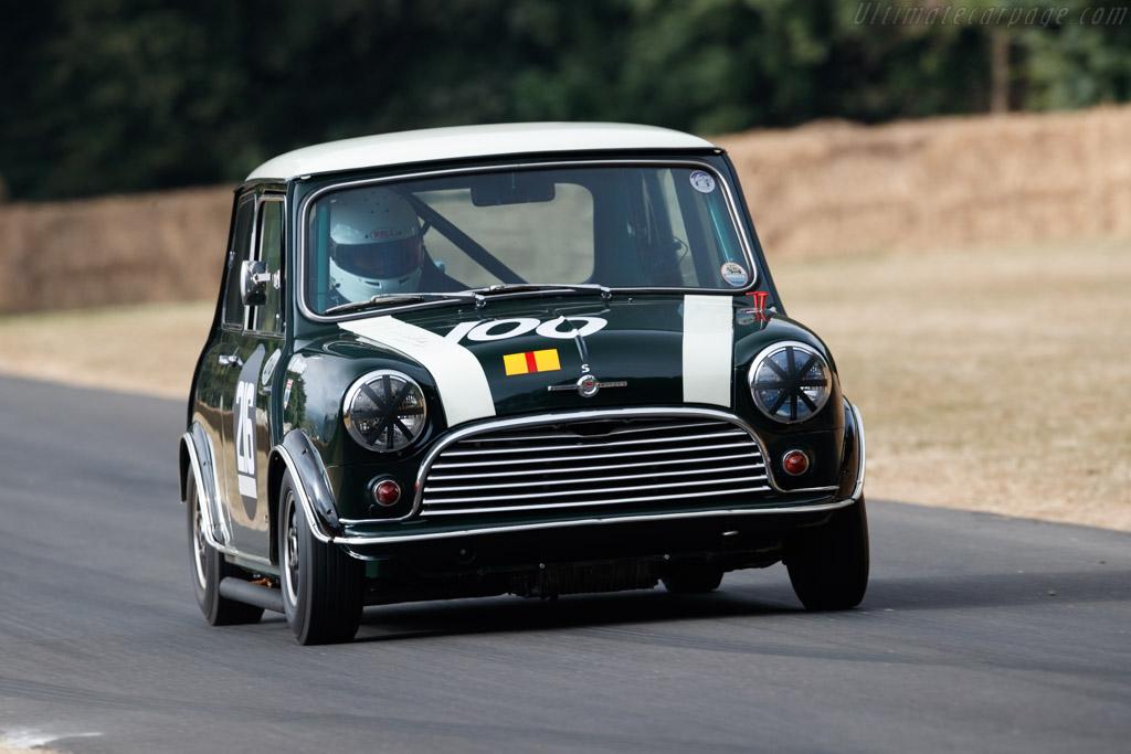 Morris Mini Cooper S  - Entrant: John Rhodes - Driver: Charles Rainford  - 2018 Goodwood Festival of Speed