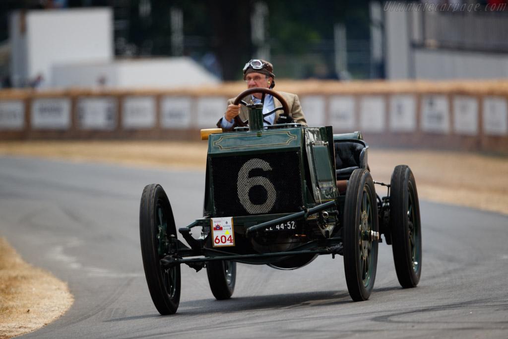 Napier 100 HP  - Entrant: Louwman Museum - Driver: Evert Louwman  - 2018 Goodwood Festival of Speed