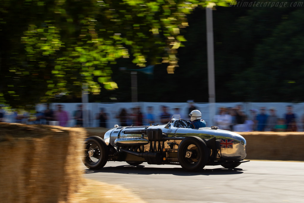 Napier-Railton Special  - Entrant: Brooklands Museum - Driver: Allan Winn  - 2018 Goodwood Festival of Speed