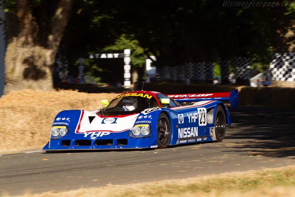 Nissan R90CK - Chassis: R90C/1 - Entrant / Driver Kent Abrahamsson  - 2018 Goodwood Festival of Speed