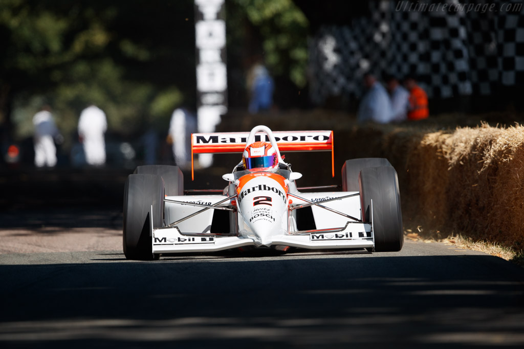 Penske PC22 Chevrolet - Chassis: PC93/001 - Entrant: Anthony Smith - Driver: Jeremy Smith - 2018 Goodwood Festival of Speed