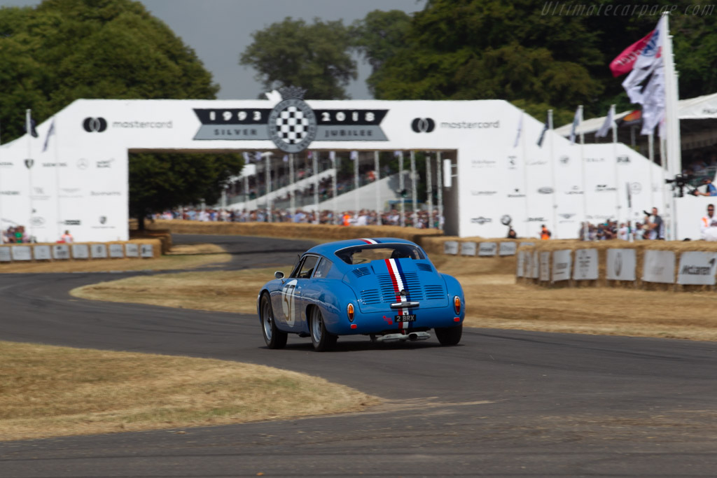Porsche 356B Carrera Abarth GTL - Chassis: 1002 - Entrant: Isabel Wilcox - Driver: Andy Prill  - 2018 Goodwood Festival of Speed