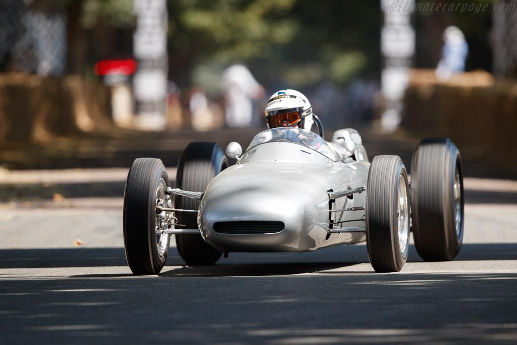 Porsche 804  - Entrant: Porsche Museum - Driver: Richard Attwood  - 2018 Goodwood Festival of Speed
