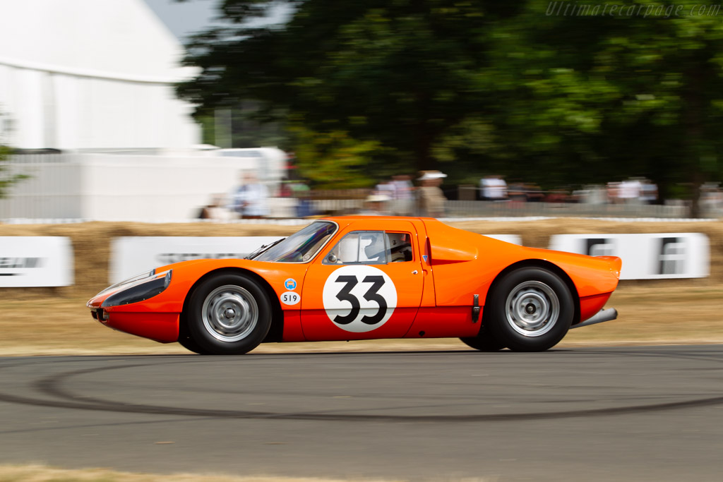 Porsche 904 - Chassis: 904-055 - Entrant / Driver Philip Basil  - 2018 Goodwood Festival of Speed