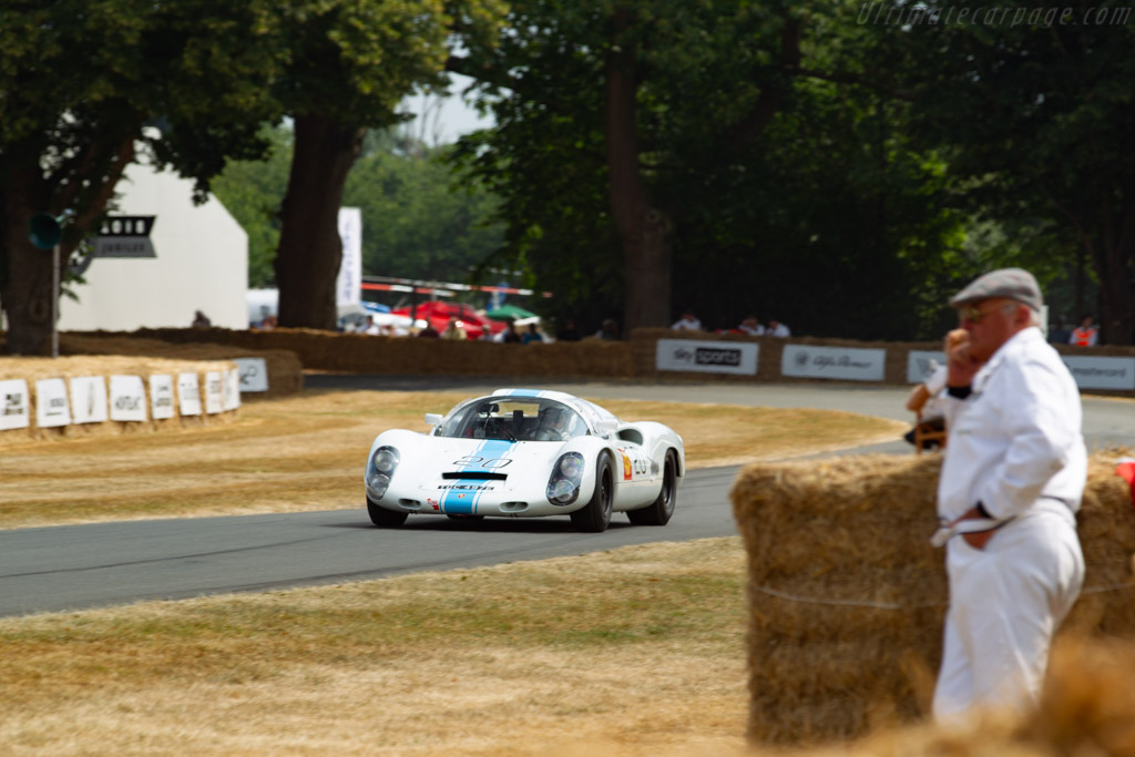 Porsche 910 - Chassis: 910-020 - Entrant / Driver Rainer Becker  - 2018 Goodwood Festival of Speed