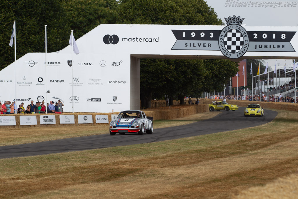 Porsche 911 RSR - Chassis: 911 360 0588 - Entrant: FICA FRIO Ltd - Driver: Joe Twyman  - 2018 Goodwood Festival of Speed