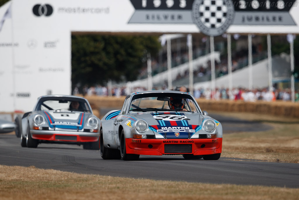Porsche 911 RSR R7 - Chassis: 911 360 0686 - Entrant / Driver Kenny Schachter  - 2018 Goodwood Festival of Speed