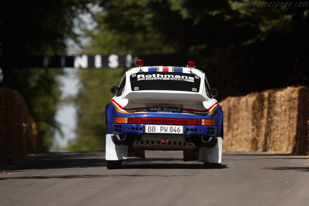 Porsche 911 SC Paris Dakar  - Entrant: Porsche Museum - Driver: Walter Röhrl  - 2018 Goodwood Festival of Speed