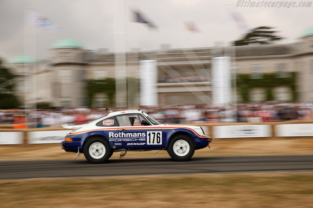 Porsche 911 SC Paris Dakar  - Entrant: Porsche Museum - Driver: Walter Röhrl  - 2018 Goodwood Festival of Speed