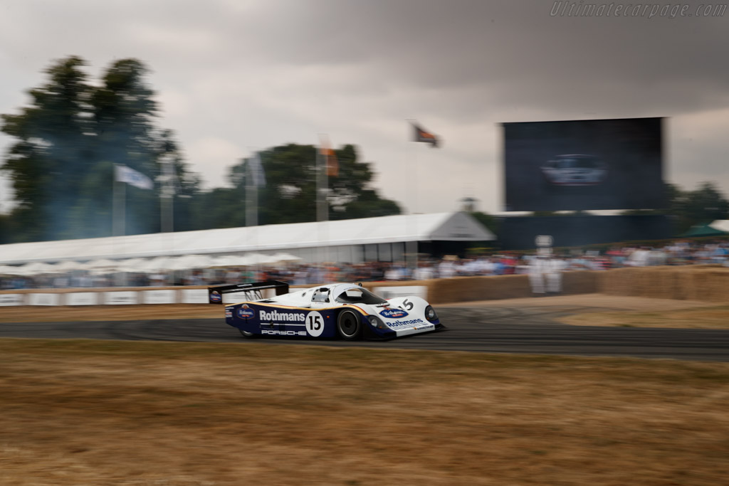 Porsche 962C - Chassis: 962-106B - Entrant: ROFGO Collection - Driver: Jochen Mass  - 2018 Goodwood Festival of Speed