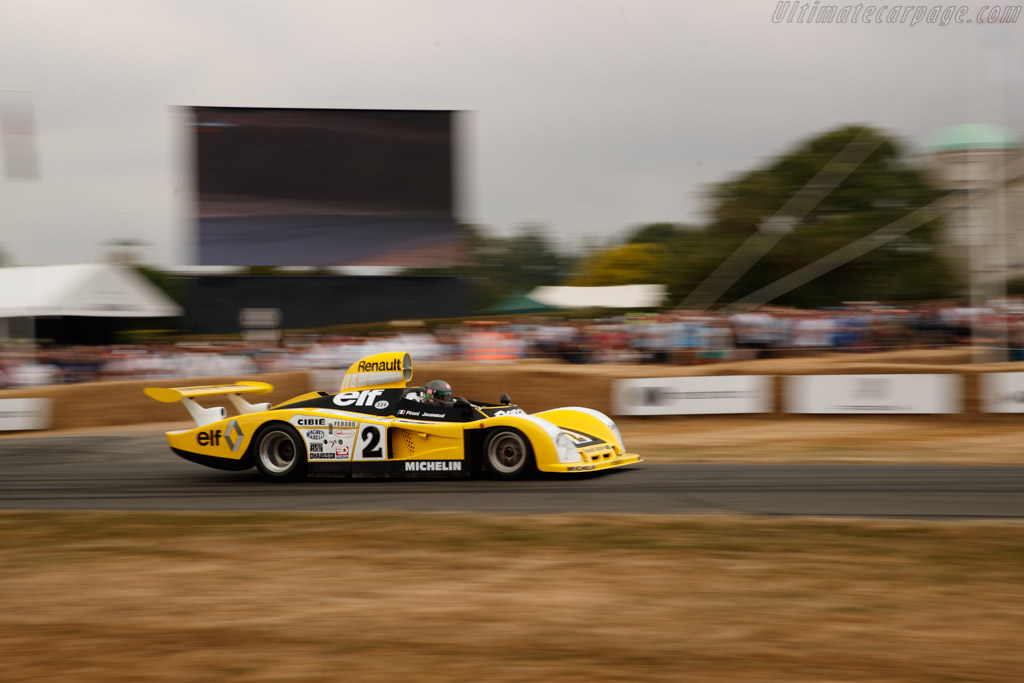 Renault-Alpine A442B - Chassis: 442/3 - Entrant: Renault Classic - Driver: Michel Leclere  - 2018 Goodwood Festival of Speed