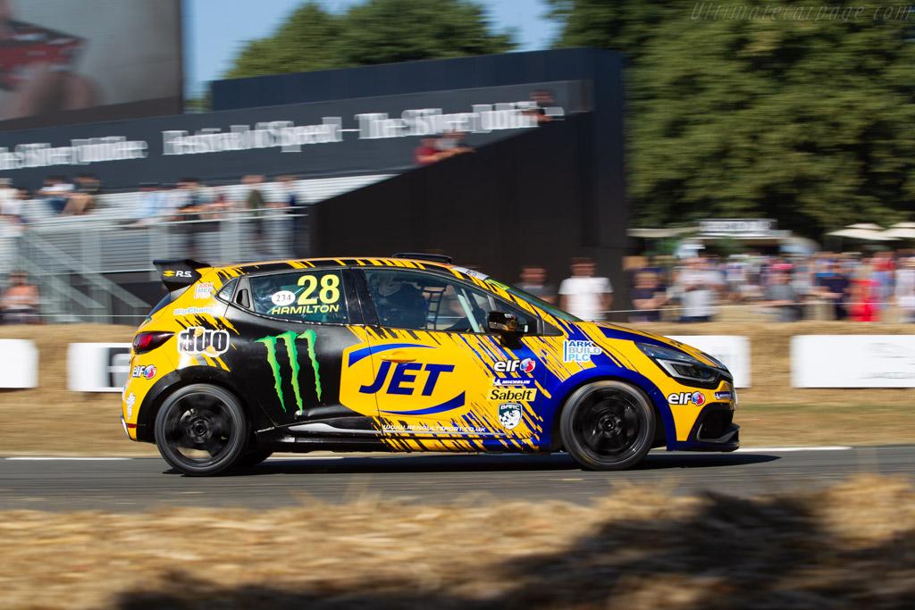 Renault Clio Cup  - Entrant / Driver Nicolas Hamilton  - 2018 Goodwood Festival of Speed