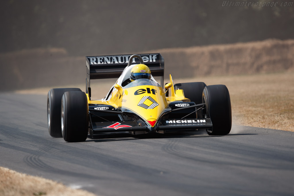 Renault RE40 - Chassis: RE40-04 - Entrant: Renault Classic - Driver: Alain Serpaggi  - 2018 Goodwood Festival of Speed