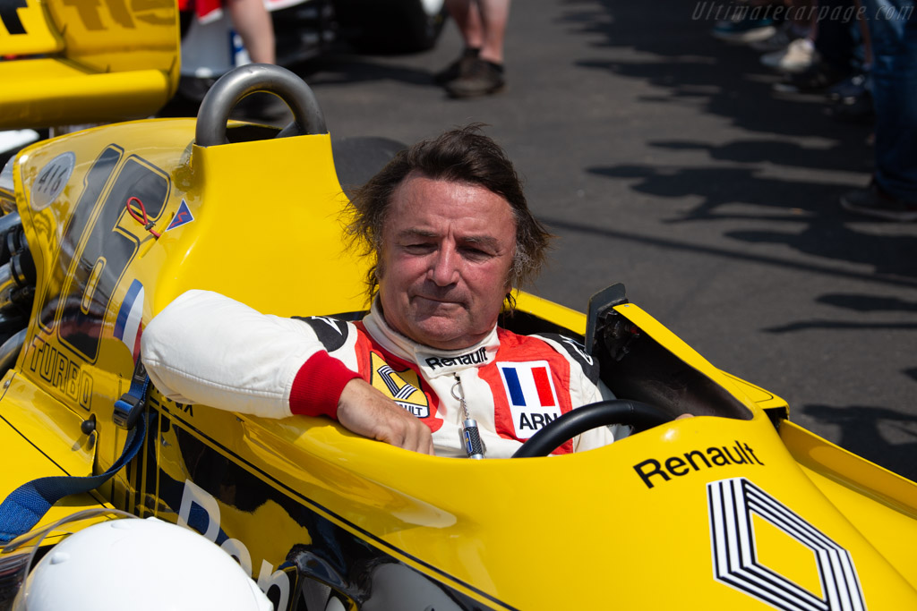 Renault RS01  - Entrant: Renault Classic - Driver: René Arnoux / Nicolas Navarra  - 2018 Goodwood Festival of Speed