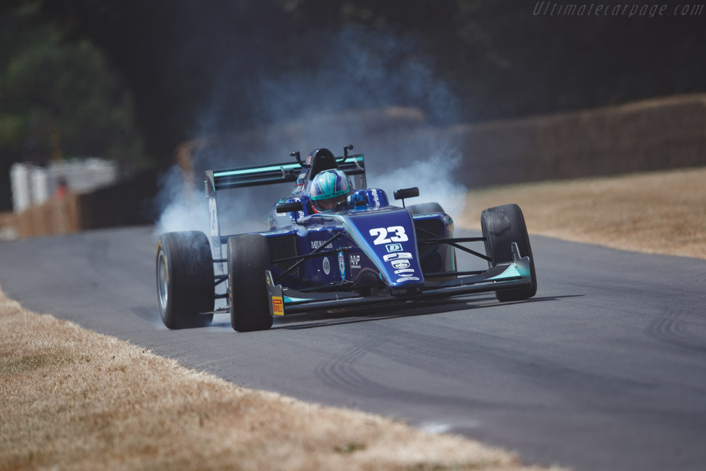 Tatuus F4-T014 - Chassis: 131 - Entrant: Carlin - Driver: Billy Monger  - 2018 Goodwood Festival of Speed