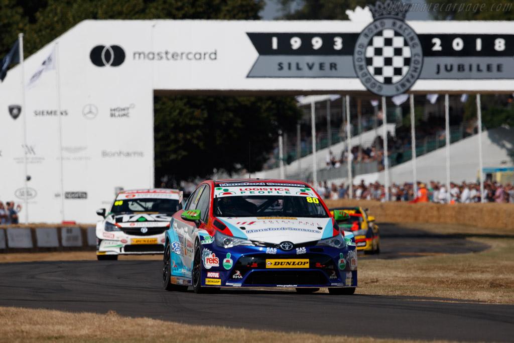 Toyota Avensis  - Entrant: Speedworks Motorsports - Driver: Tom Ingram  - 2018 Goodwood Festival of Speed