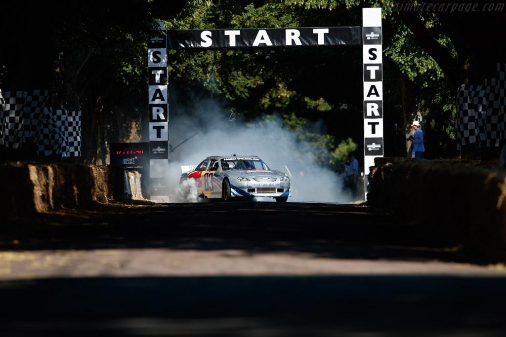 Toyota Camry  - Entrant: Red Bull UK - Driver: Patrick Friesacher  - 2018 Goodwood Festival of Speed