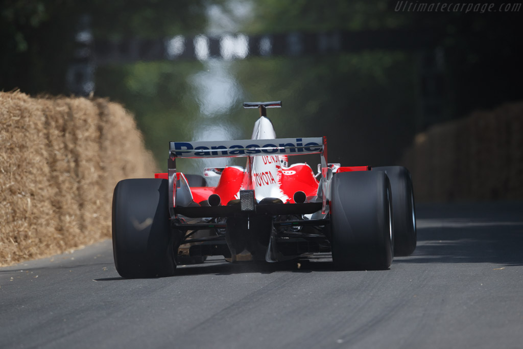 Toyota TF105 - Chassis: TF105-06 - Entrant / Driver Harold Fuchs  - 2018 Goodwood Festival of Speed