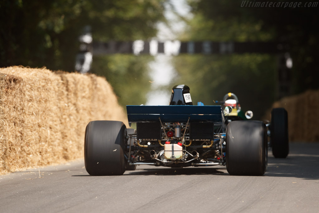 Tyrrell 003 - Chassis: 003 - Entrant: Paul Stewart - Driver: Paul Stewart / Sir Jackie Stewart - 2018 Goodwood Festival of Speed