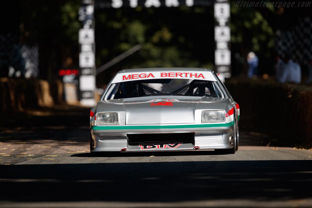Vauxhall Cavalier Mega Bertha  - Driver: Ric Wood  - 2018 Goodwood Festival of Speed